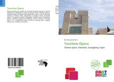 Bookcover of Teochew Opera
