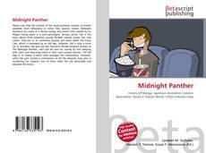 Couverture de Midnight Panther