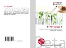 Bookcover of CTP Synthase 1