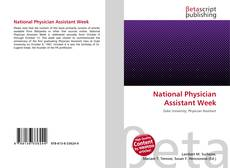 Bookcover of National Physician Assistant Week