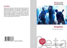 Bookcover of Amplifier