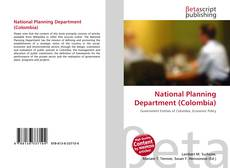 Portada del libro de National Planning Department (Colombia)