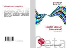 Bookcover of Spartak Stadium (Novosibirsk)