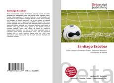 Capa do livro de Santiago Escobar