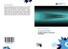 Bookcover of Crystal Oven