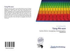 Capa do livro de Tang Pik-wan