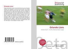 Orlando Lions的封面