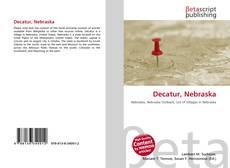 Bookcover of Decatur, Nebraska