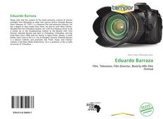 Bookcover of Eduardo Barraza