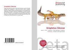 Capa do livro de Uroplatus Sikorae
