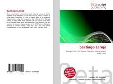 Capa do livro de Santiago Lange