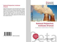 Bookcover of National Polytechnic Institutes (France)