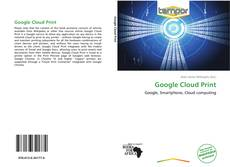 Обложка Google Cloud Print