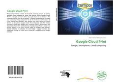 Bookcover of Google Cloud Print