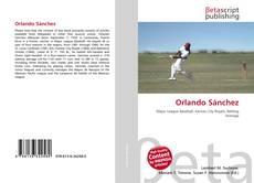 Bookcover of Orlando Sánchez