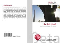 Buchcover von Barthel Schink