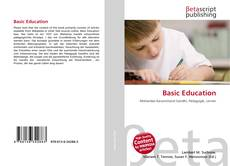 Bookcover of Basic Education