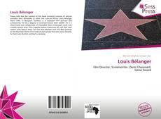 Buchcover von Louis Bélanger
