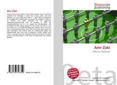 Bookcover of Amr Zaki