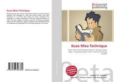 Couverture de Kuso Miso Technique