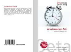 Capa do livro de Amsterdamer Zeit