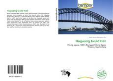 Huguang Guild Hall kitap kapağı