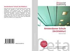 Buchcover von Amsterdamer Schule (Architektur)