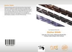 Bashar Shbib kitap kapağı