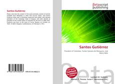 Bookcover of Santos Gutiérrez