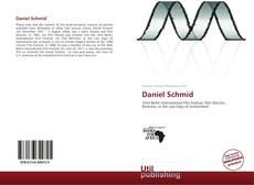 Buchcover von Daniel Schmid