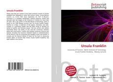 Bookcover of Ursula Franklin