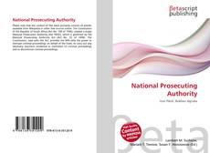 Buchcover von National Prosecuting Authority