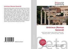 Buchcover von Ursicinus (Roman General)