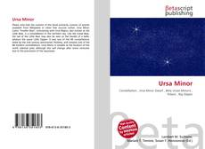 Ursa Minor kitap kapağı