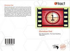 Capa do livro de Christian Frei
