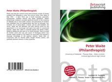 Обложка Peter Waite (Philanthropist)