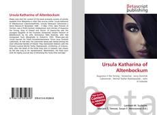 Buchcover von Ursula Katharina of Altenbockum
