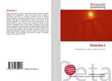 Capa do livro de Orontes I