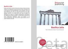 Обложка Basilica Julia