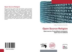 Capa do livro de Open Source Religion