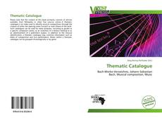 Thematic Catalogue kitap kapağı