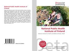 Bookcover of National Public Health Institute of Finland