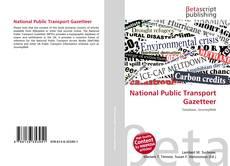 Bookcover of National Public Transport Gazetteer