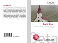Capa do livro de Basile Kfoury