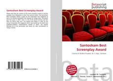 Bookcover of Santosham Best Screenplay Award