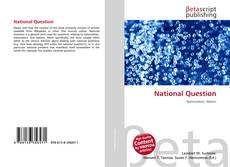 Buchcover von National Question