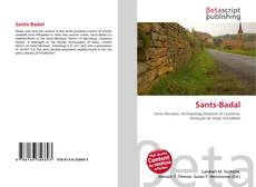 Bookcover of Sants-Badal