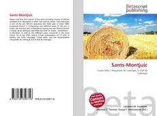 Bookcover of Sants-Montjuïc