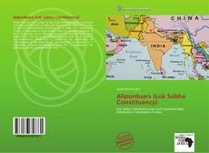 Capa do livro de Alipurduars (Lok Sabha Constituency)