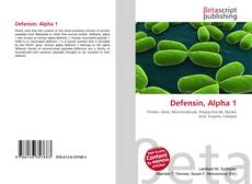 Bookcover of Defensin, Alpha 1